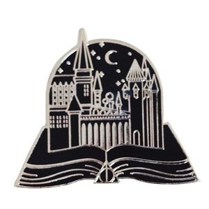 Jewelry - COMING SOON! Harry Potter Hogwarts Book Pin